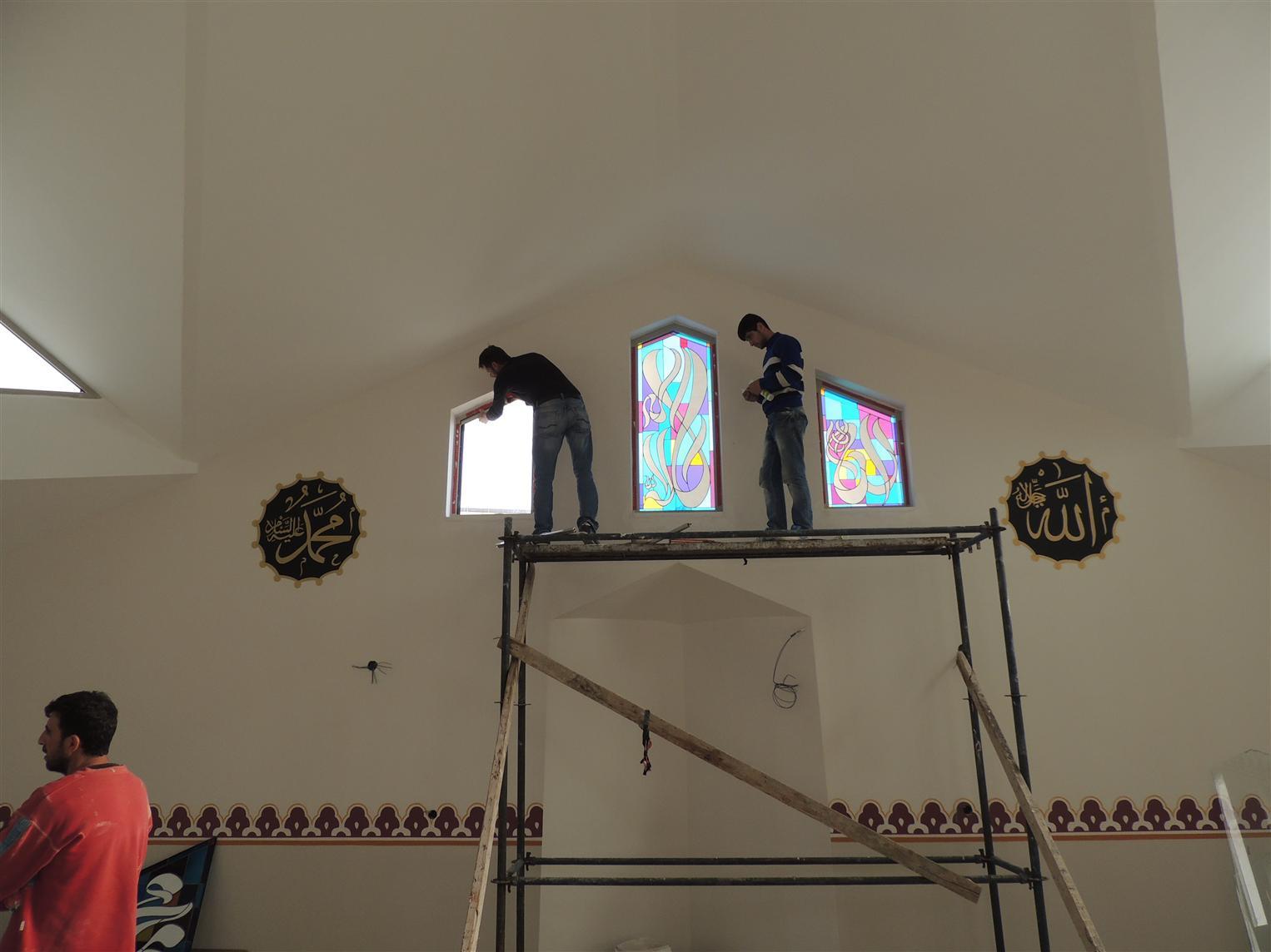 piri-reis-camii201592117423291.jpg izmir vitray çalışması
